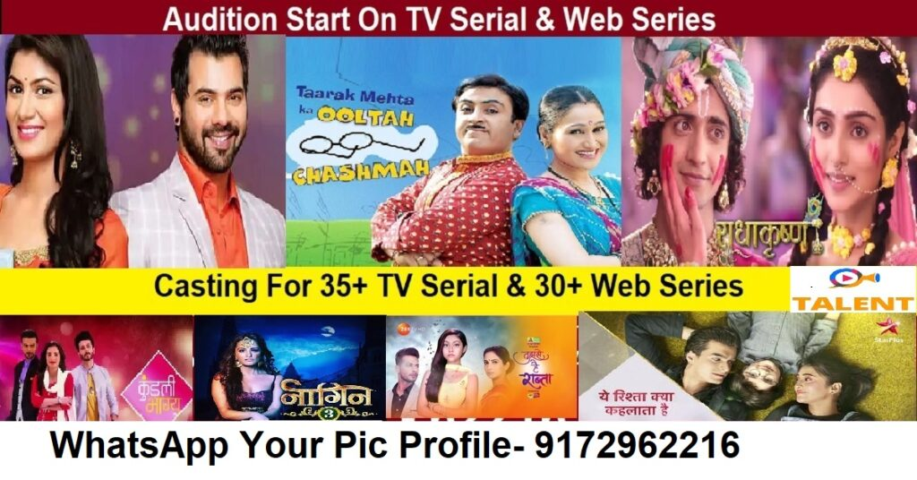 Audition in tv serial