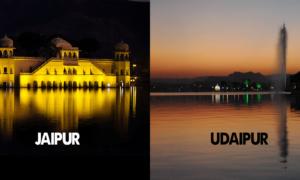 Jaipur Vs Udaipur